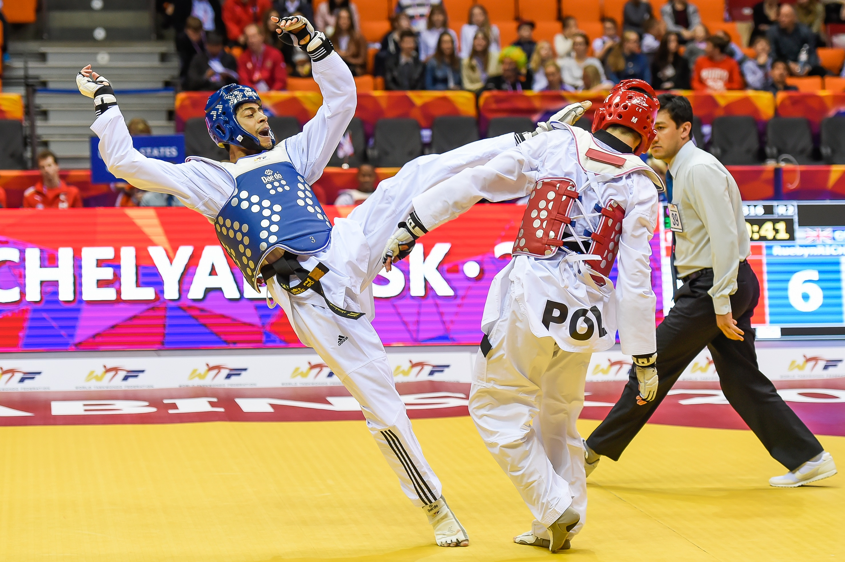 Ruebyn Richards, World Taekwondo Championships 2015 140515 rights free courtesy of GB Taekwondo (2)