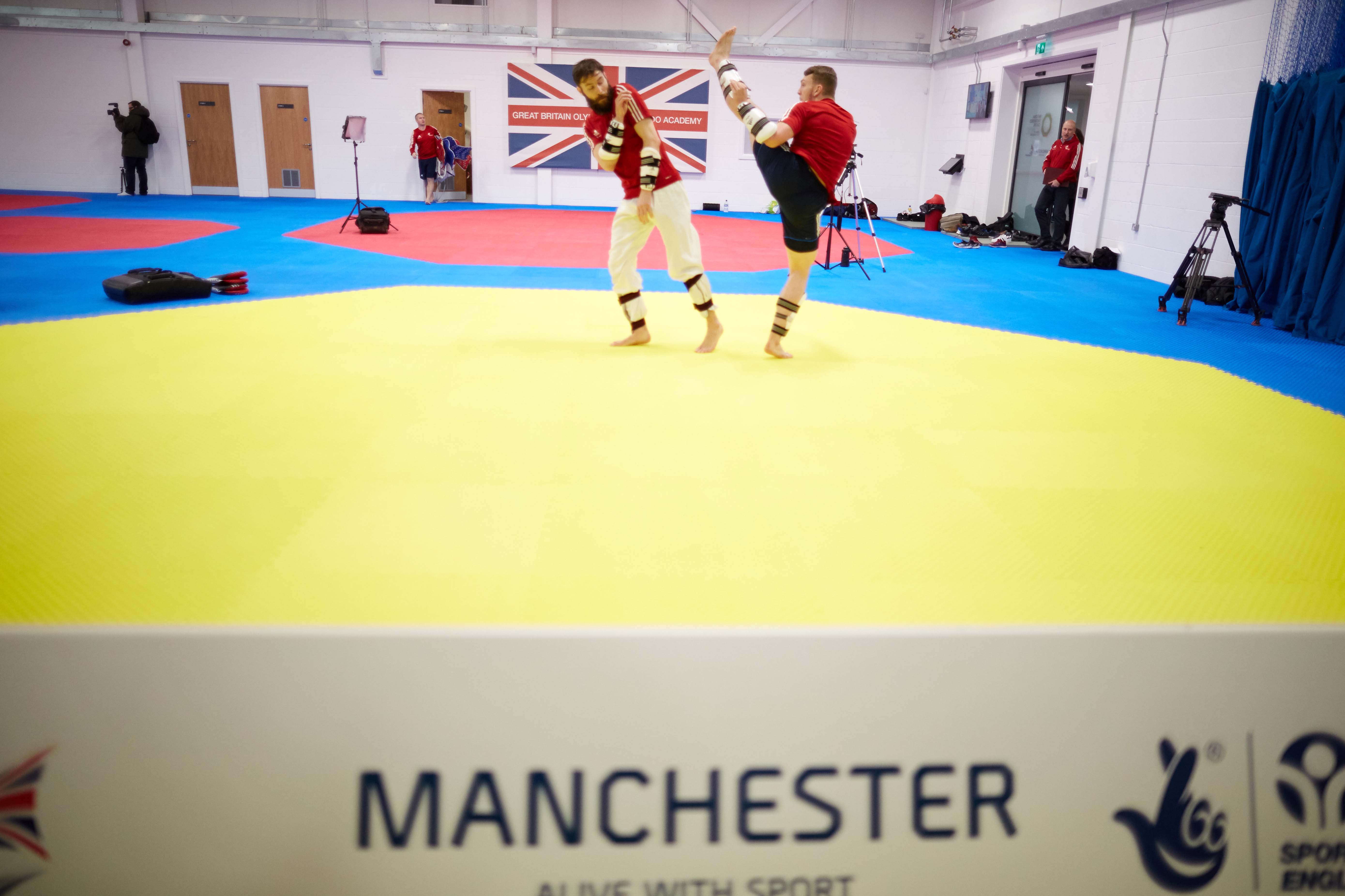 National Taekwondo Centre in Manchester official opening of the new Centre after a £3m transformation.
