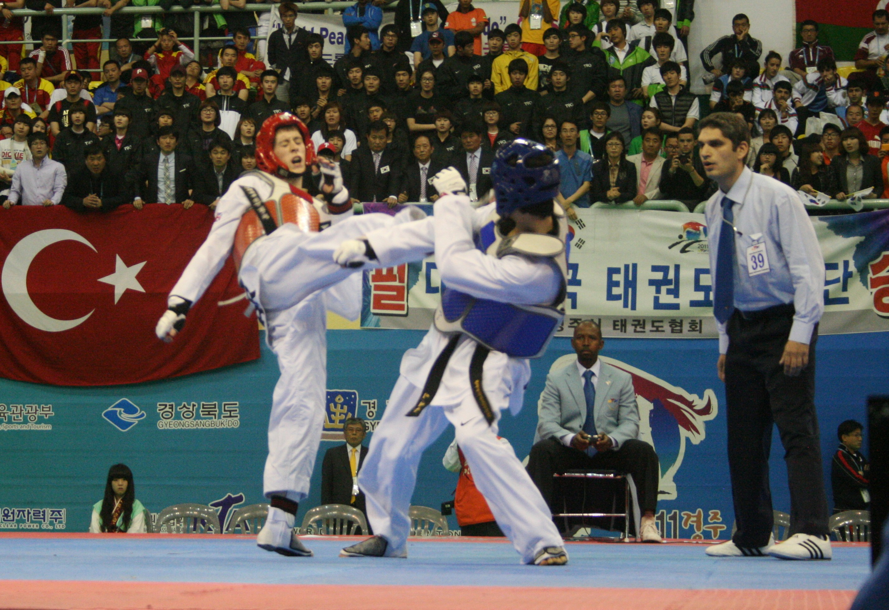 Michael v Korea 2 World Final