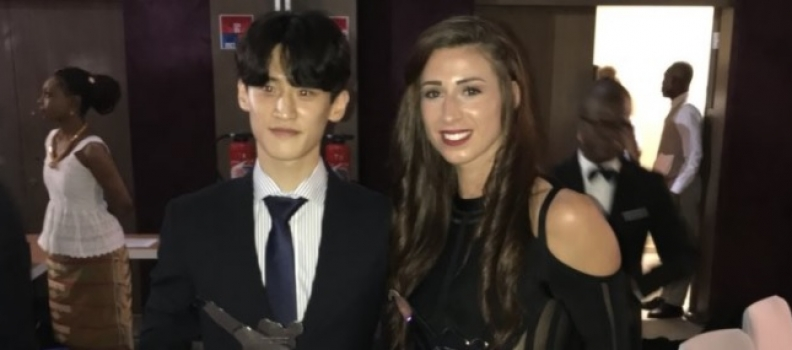 Walking in a Walkden wonderland! Brilliant Bianca crowned World Taekwondo athlete of the year