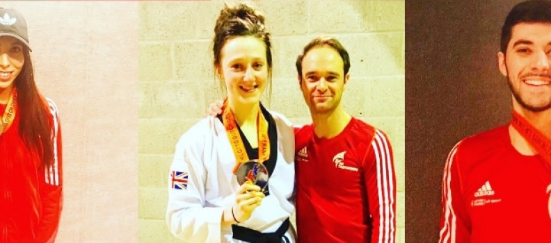 Double Dutch makes perfect sense to GB Taekwondo stars