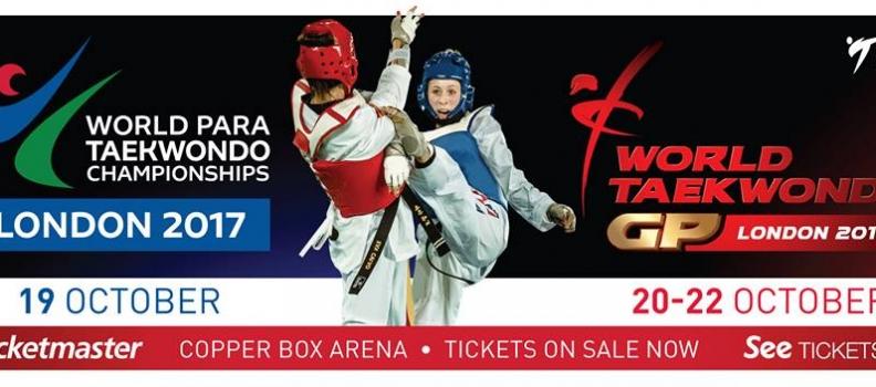 The World Para Taekwondo Championships London 2017