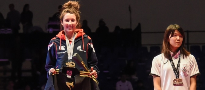 Jade Jones Powers To World Grand Prix Title