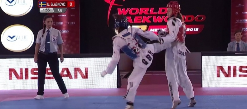 Jade Jones' Bronze Medal Match At Mexico Grand Prix Final (Series 4)