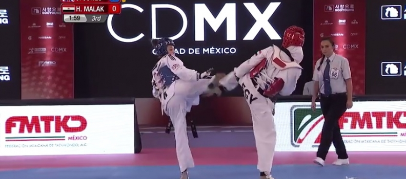 Jade Jones' Semi-Final At Mexico Grand Prix Final (Series 4)