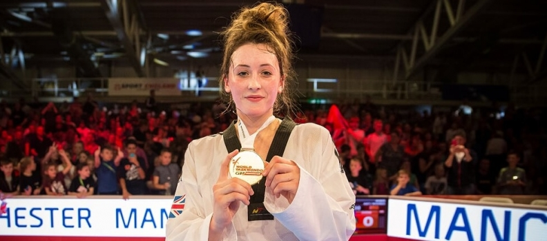 Head Girl Jones Is Top Of The World Grand Prix Class In Manchester