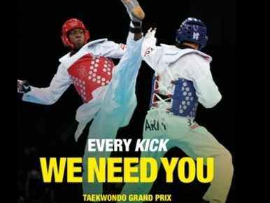 Find out more about the Taekwondo Grand Prix.