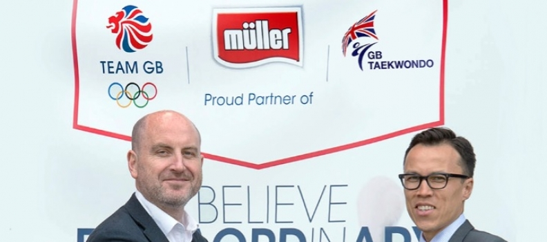 GB Taekwondo Partner Up With Müller For Rio 2016 Olympic Games