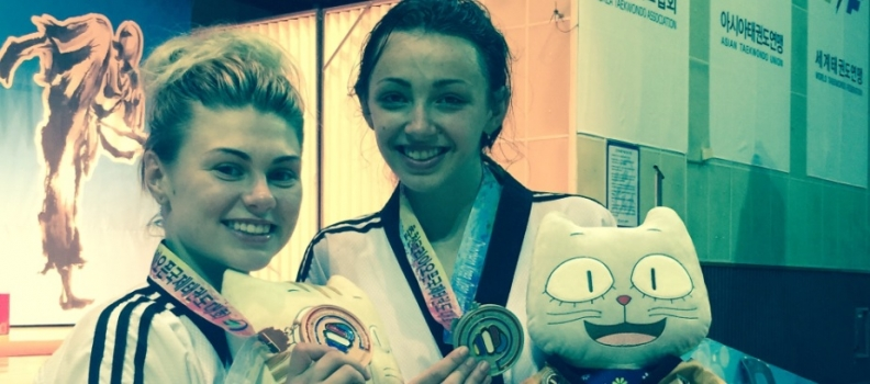 Gearing Up For The Grand Prix-Trio Of GB Stars Medal In Korea