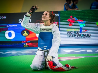 Watch Bianca make history at the 2017 World Championships!