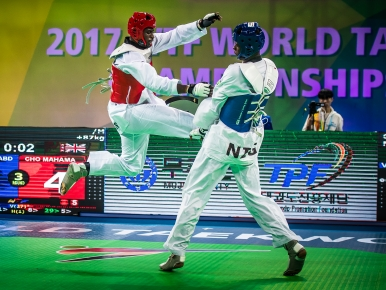 Watch Mahama Cho win his silver medal at the 2017 World Championships!