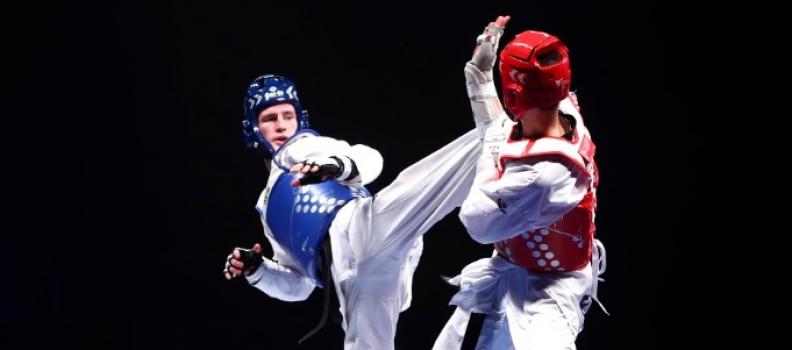 Super Sinden storms to landmark world title on golden night for GB Taekwondo
