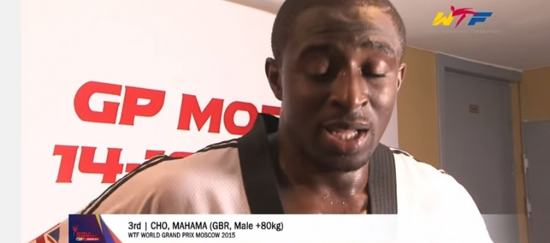 Mahama Cho On His Bronze At Grand Prix Moscow