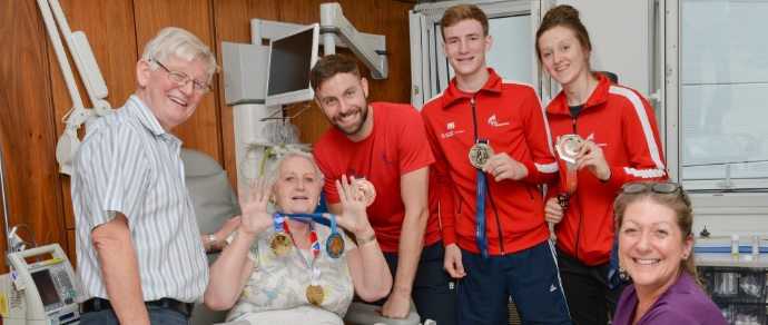 GB Taekwondo 'Kick-Back' with Patients at The Christie Private Care and The Christie